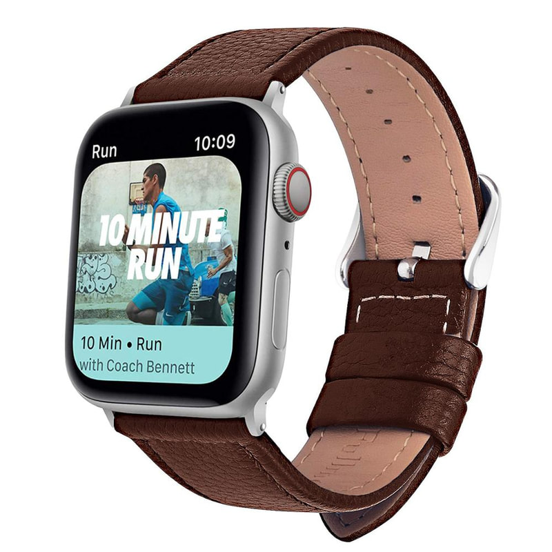 Genuine Cow Leather Band Strap Apple Watch Series 5 4 3 1 Iwatch 38 40 42 44mm Ebay